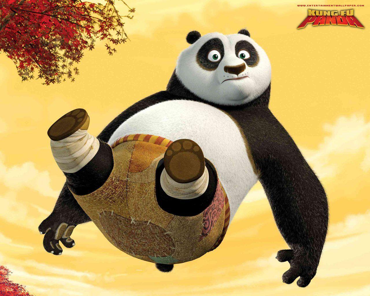 Мультик конфу панда